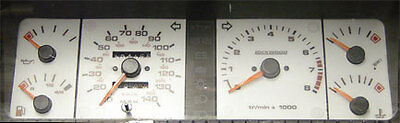 Lockwood Peugeot 205 & 309 Including GTi SILVER (A) Dial Kit 400I