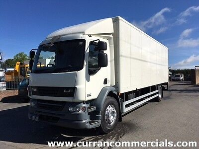 2010 Daf LF 55.220 18 Ton 4x2 on air 28ft box body with 1.5t tail lift