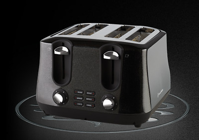 Russell Hobbs ® Siena 4 Slice Toaster - Black - Brand New - Free Shipping