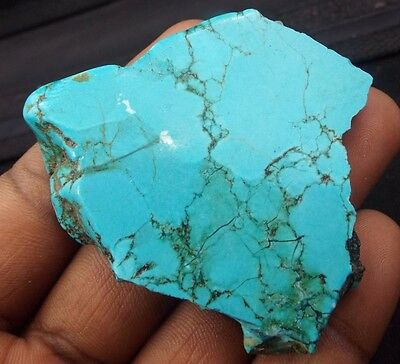 Egl Certified 226.00Ct Natural Nice Turquoise Gemstone Rough Au-414