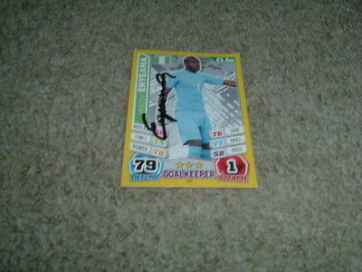 Vincent Enyeama - Nigeria - Signed Match Attax 2014 World Cup Trade Card