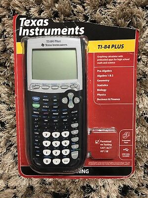 New Texas Instruments TI-84 Plus Graphing Calculator. For Sat/ACT Test