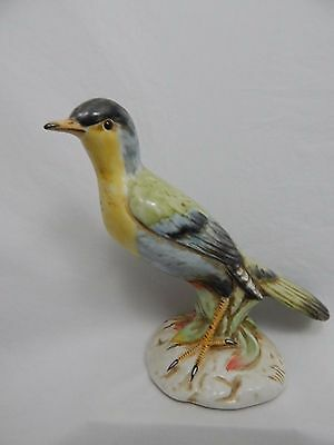 Vtg Rare Porcelain Bird Figurine Hand Painted Select Import From Italy Numbered