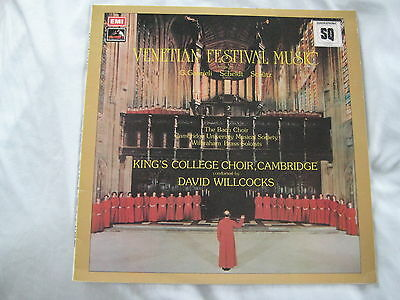 Venetian Festival Music: David Willcocks- Quadraphonic! Free Post