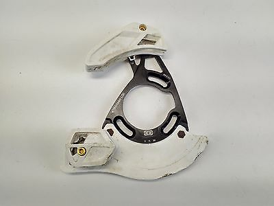 e thirteen LG1 32t - 36t Chain Device Guide Bash Guard - White USED 094