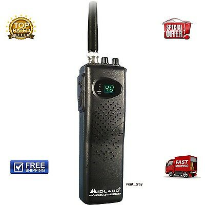 New Channel Midland Cb Radio Mobile Model Handheld Transceiver Weather Portable