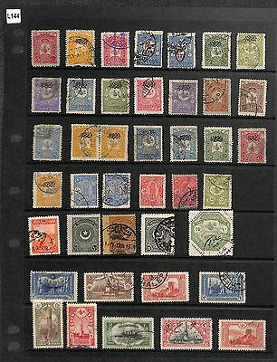 L144-Turkey Collection-Mint & Used