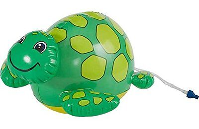 New Chad Valley Spray N Splash Turtle Inflatable Water Sprayer Garden Kids Toys