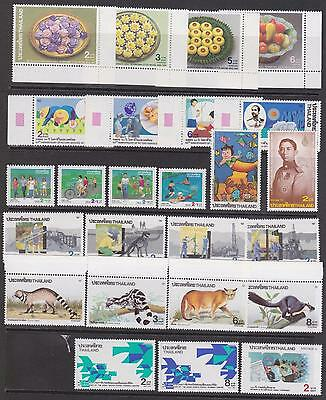 Thailand...Mint Never Hinged Sets and Singles...Superb... A+A+A+