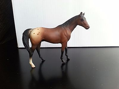 Breyer Stablemate Horse G1 Vintage Citation SR JCP 1996 bay blanket appaloosa