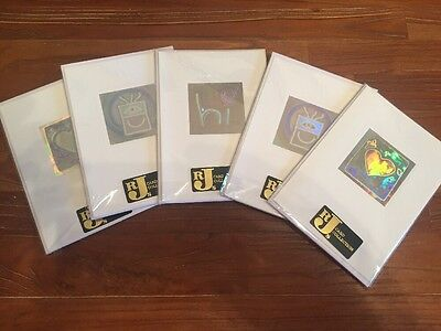 Joblot Of Any Occasion mixed Hologram Greeting Cards x20 (5 Packs Of 4)