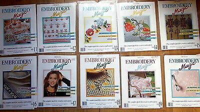 Job Lot Embroidery Magic Embroidery Transfers x 30 from Issues 11-23 & 25-26