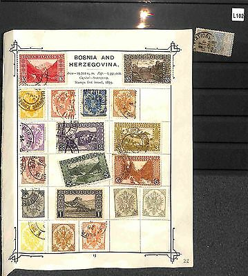 L102-European Collection Mint & Used