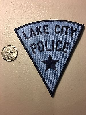 Lake City Florida Police Department Patch Fl