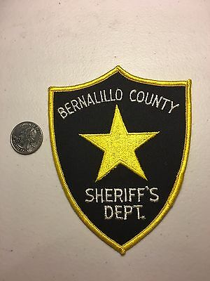Bernalillo County New Mexico Sheriffs Department Police Patch NM