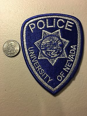University Of Nevada College Police Department Patch Nv