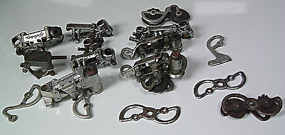 COLLECTION OF CAMPAGNOLO PARTS  1950s AND LATER
