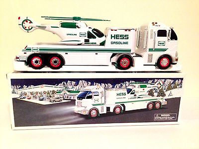 HESS TRUCK - 2006 Toy Truck and Helicopter - MINT IN BOX