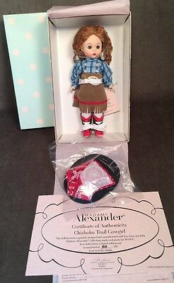 Rare Madame Alexander LE 2004 MADCC Chisholm Trail Cowgirl 34156