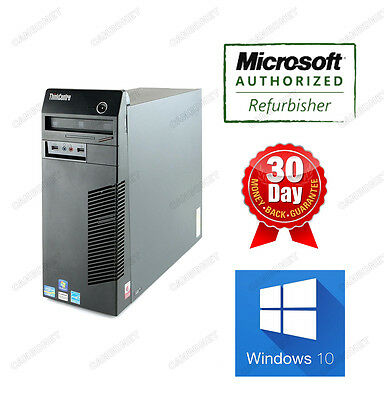 LENOVO ThinkCentre M71E Tower 3175 i3 3.1GHz 8G 1TB DVDRW W10H Desktop 90 WTY