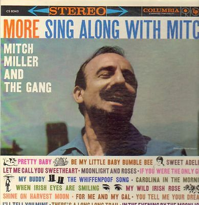 LP Mitch Miller And The Gang More Sing Along With Mitch NEAR MINT Columbia