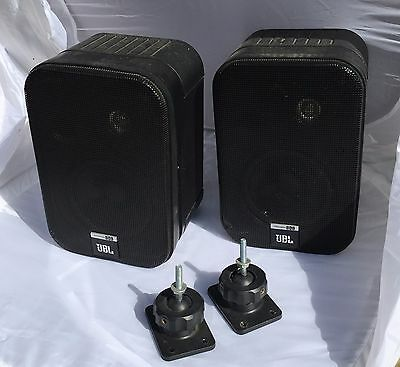 JBL Control One Monitor Speaker System - Black Pair