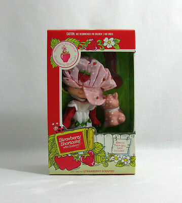NEW 1981 Vintage Palitoy ✧ Strawberry Shortcake ✧ and Custard Doll MISB