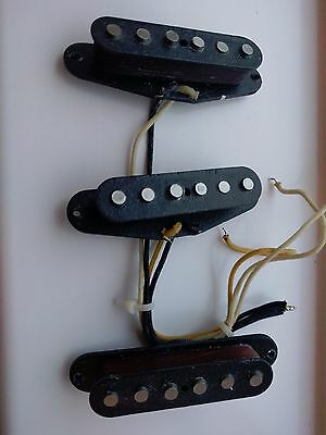 Genuine USA Fender set of Texas Special Pickups from '99 Fender USA Roadhouse