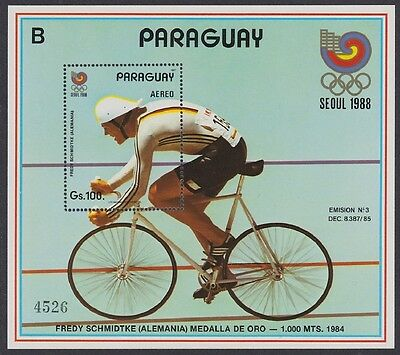 Paraguay Cycling Olympic Champion Olympic Games Seoul MS SC#C692