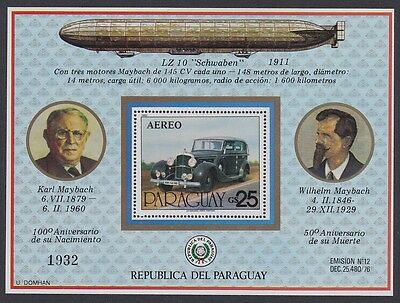 Paraguay Karl and Wilhelm Maybach MS SC#C474