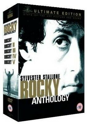 The Rocky Anthology (Ultimate Edition 6 Disc Box Set) (5.1/DTS) DVD [2005]