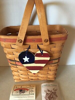 Collectible Longaberger 1991 All American Basket