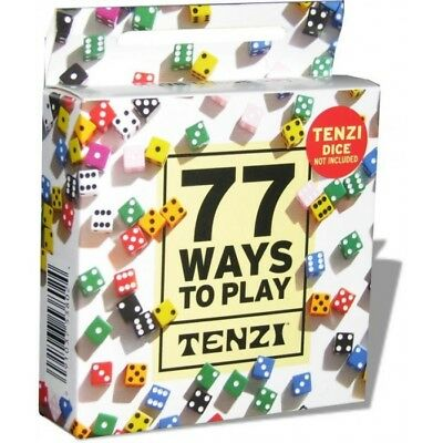 Tenzi 77 Ways Card PackTenziBrand New