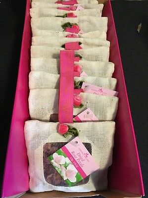 Hard To Find Box Of Garden Of Ireland Dried Rose Petals Flowers Sachet Scent New