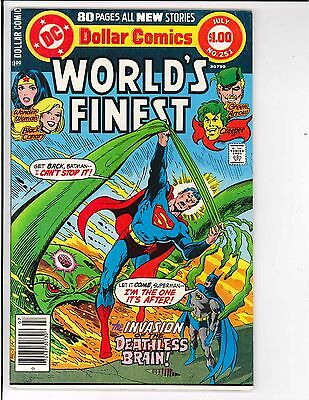 World's Finest #251 1st Appearance Count Vertigo 1978 DC Comics Superman