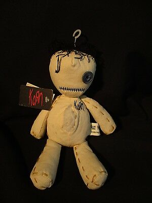 """2000 Korn tour """"Issues"""" rag doll  by Living Toys complete with tags and hanger"""