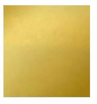 1PC Brass Metal Sheet Plate 1mm*100mm*100mm