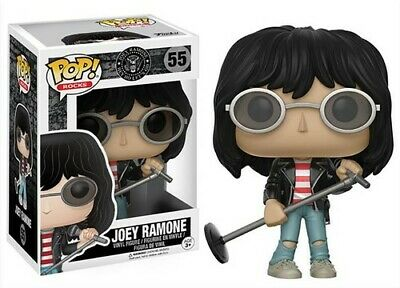 FUNKO POP! ROCKS: MUSIC - JOEY RAMONE [New Toy] Vinyl Figure
