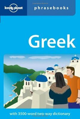 Greek (Lonely Planet Phrasebook) by Spilias, Athanasios Paperback Book The Cheap