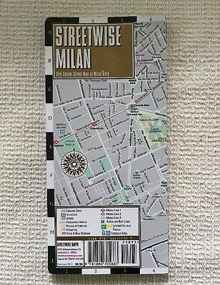 Streetwise Milan Italy Map Laminated City Center Street Very Nice 2012 Rev Ed