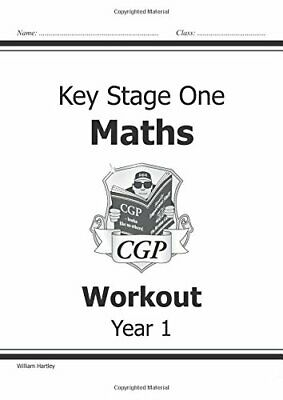 KS1 Maths Workout - Year 1 (CGP KS1 Maths) by Hartley, William Paperback Book