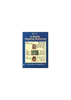 A Simple Rhyming Dictionary: Small Book (PELICAN BIG B..., Body, Wendy Paperback