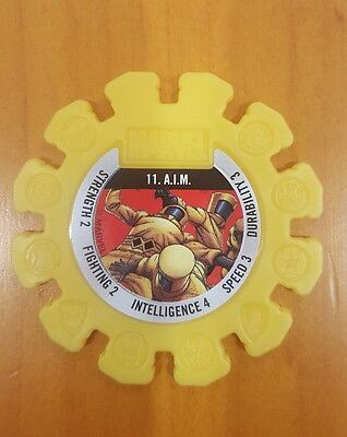 Woolworths marvel heroes super discs 11. A.I.M
