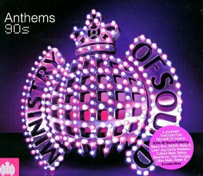 Various Artists - Anthems 90s - Various Artists CD MSVG The Cheap Fast Free Post