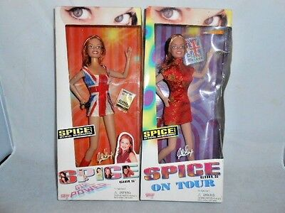 1998 Spice Girls Ginger Doll Lot On Tour and Girl Power Geri Halliwell