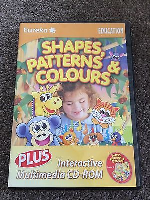Kids Educational PC Computer Game Shapes Patterns And Colours Ages 3 - 6