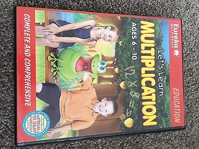 Kids Educational PC Computer Game Lets Learn Multiplication Ages 6 - 10