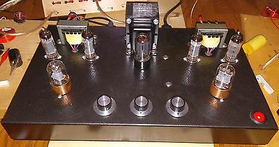 Stereo Tube amplifier made in Canada, New EL84 Integrated SALE!