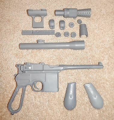 Star Wars Prop Replica ANH The Force Awakens Han Solo Hero Blaster Full Kit