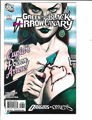 Green Arrow & Black Canary #17 1st Full Appearance of Cupid Carrie Hartnell DC